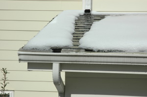 gutter guards snow and ice