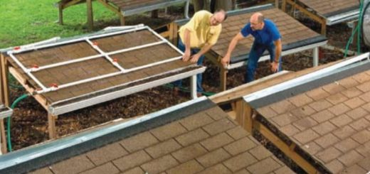 consumer reports tests gutter guards pm sections of roof under trees