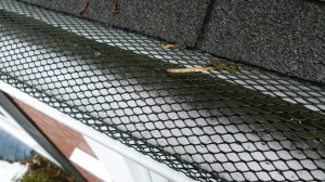 Expanded metal gutter guard