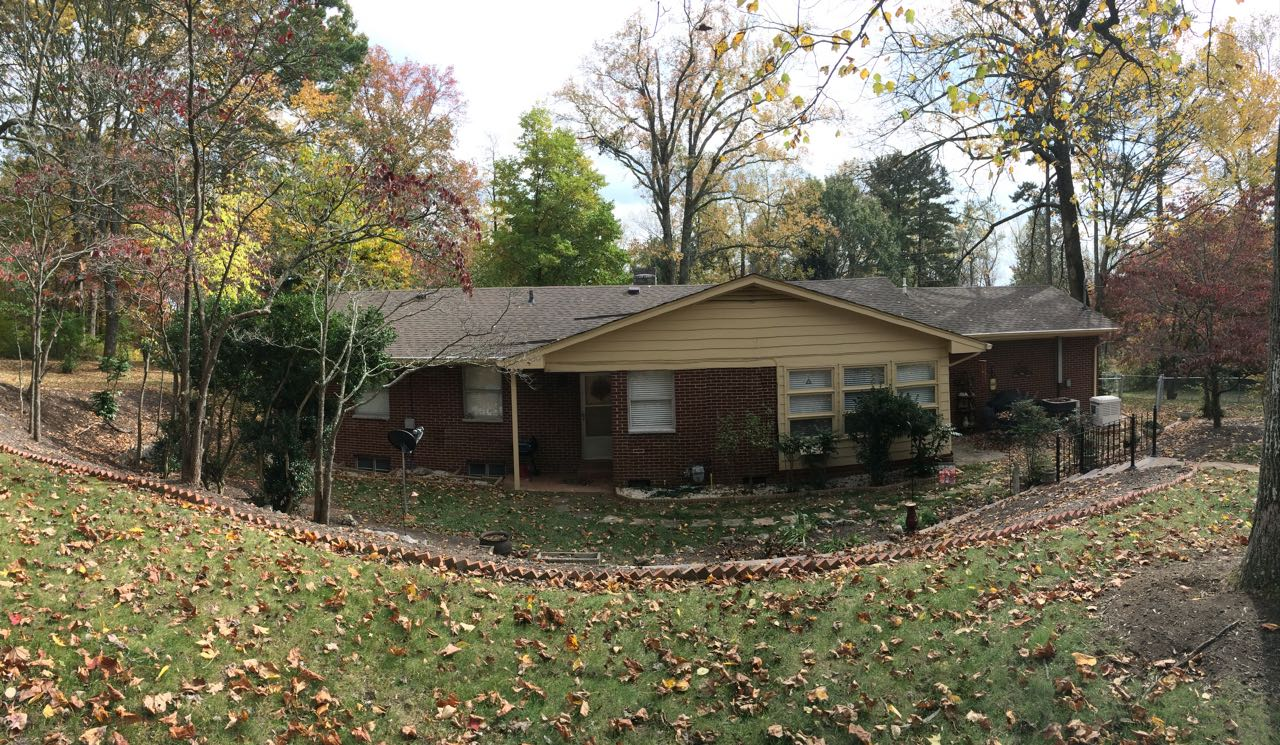 Mid Century Modern West Knoxville Tennessee Rear After